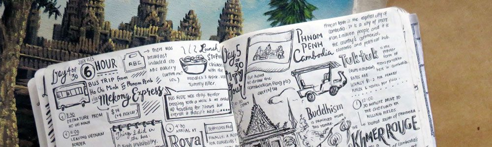 All Hail The Travel Journal